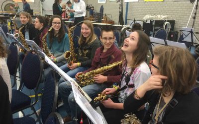 Mega-orkest Jeugdmuziekdag