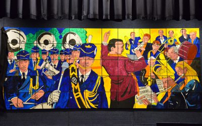 Verenigingsschilderij onthuld