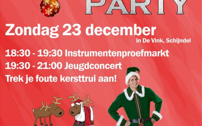 Sfeerimpressie Santa's faute party