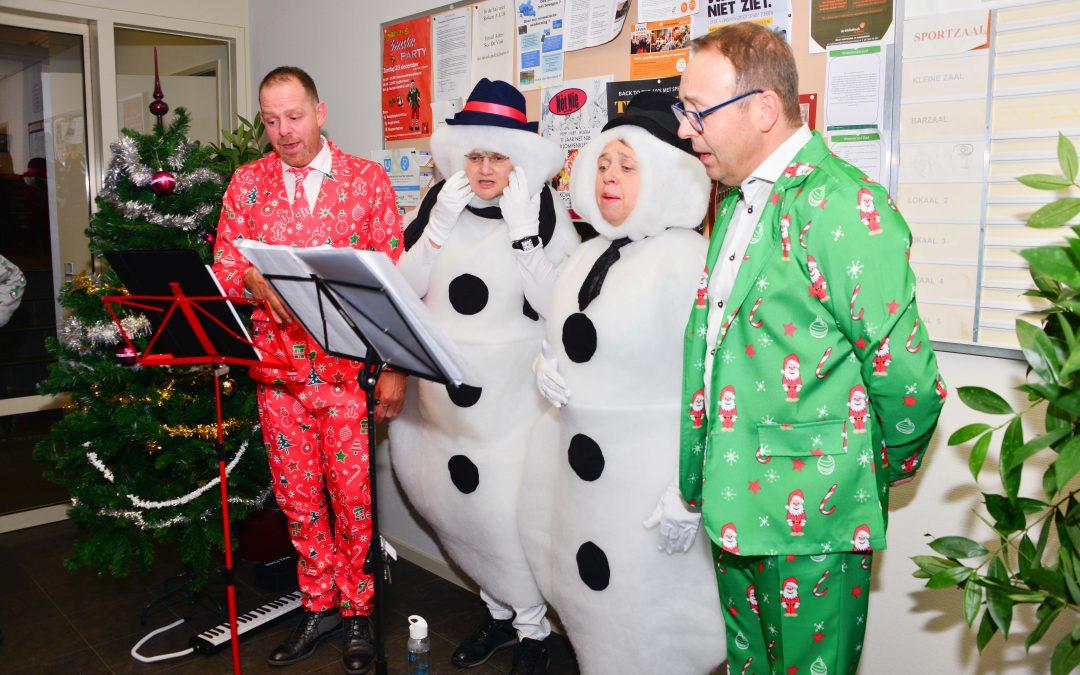 Santa's faute party was een geweldige happening!